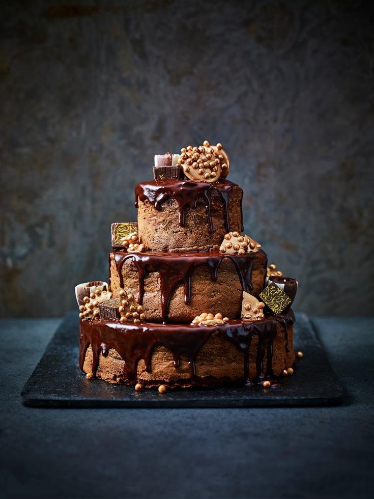 Chocolate Box Sachertorte Drizzle Cake