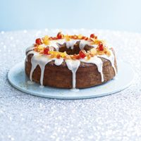 spiced tropical christmas cake
